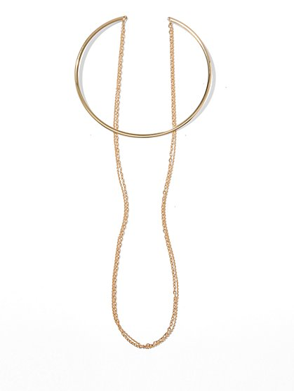 Collar & Chain-Link Necklace - New York & Company