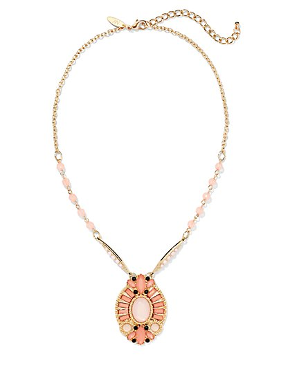 Collar Pendant Necklace  - New York & Company