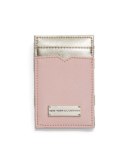Colorblock Card Case  - New York & Company
