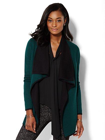 Colorblock Flyaway Sweater - New York & Company