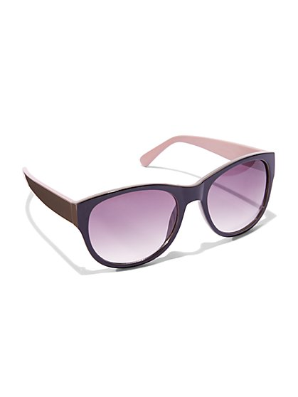 Colorblock Sunglasses  - New York & Company