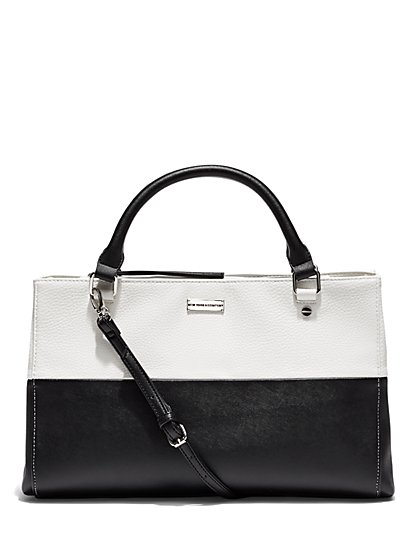 Colorblock Tote Bag  - New York & Company