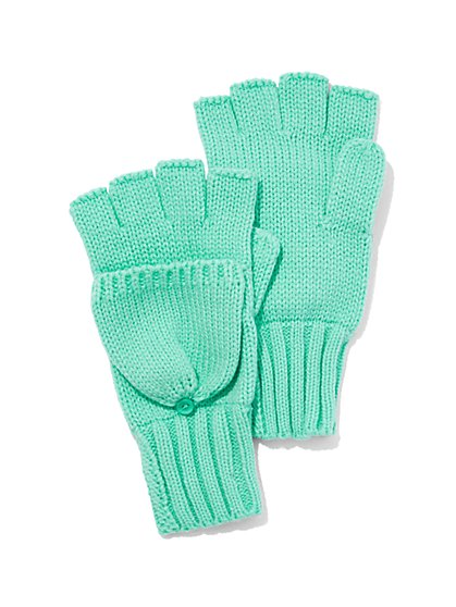 Convertible Knit Gloves  - New York & Company
