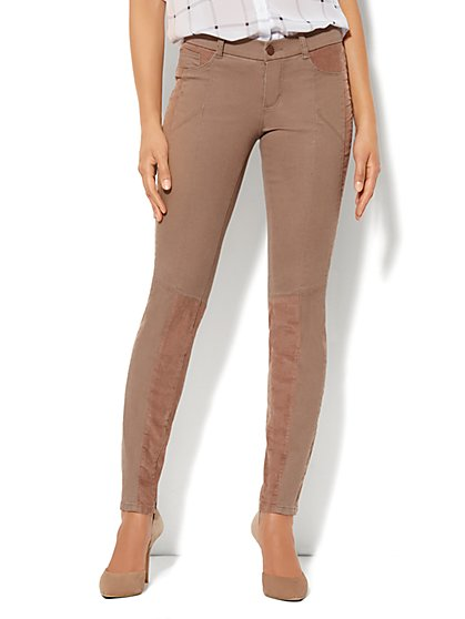 Corduroy Moto Legging - New York & Company