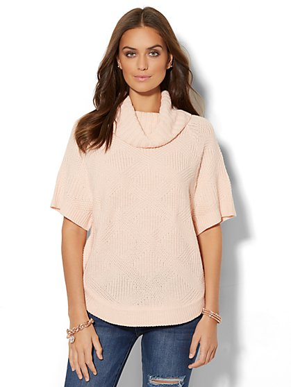 Cowl-Neck Dolman Sweater  - New York & Company