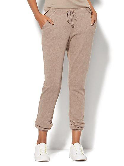 Cozy Montauk Fleece Pant - New York & Company