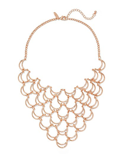 Crescent Bib Necklace  - New York & Company