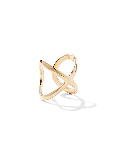 Crisscross Openwork Ring  - New York & Company