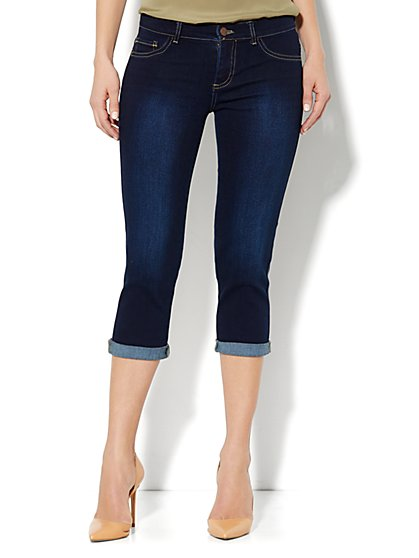 Crop Legging – Harlow Blue Wash
