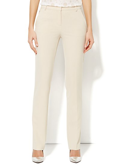 Crosby Street City Double Stretch Slim Leg Pant - Petite