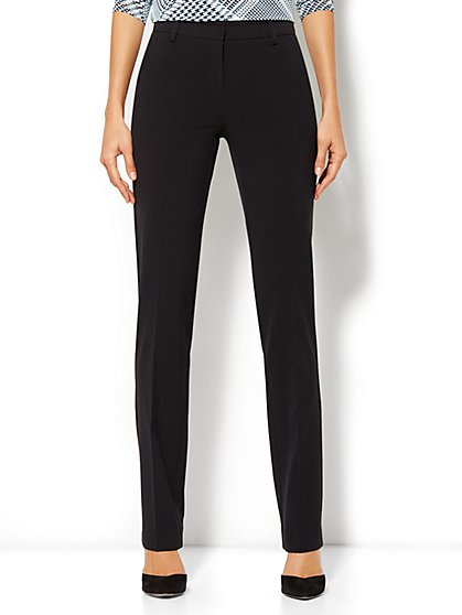 Crosby Street City Double Stretch Slim Pant - Average - New York & Company