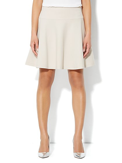 Crosby Street Fit & Flare Skirt