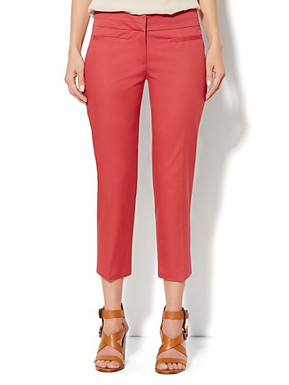 Crosby Street Slim Leg Crop