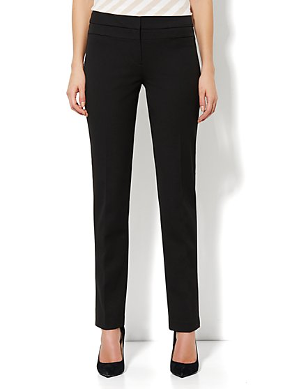 Crosby Street SuperStretch High-Waist Pant - Slim Leg - New York & Company