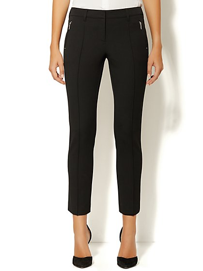 Crosby Street SuperStretch Slim Leg Ankle Pant