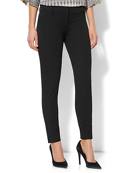 Crosby Street SuperStretch Slim Leg Seamed Pant - New York & Company