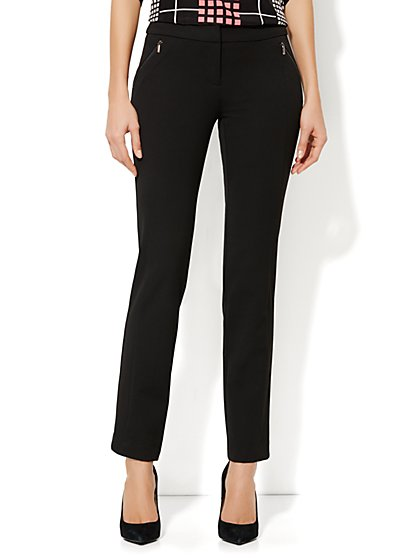 Crosby Street SuperStretch Slim Pant - Zip-Pocket - Average