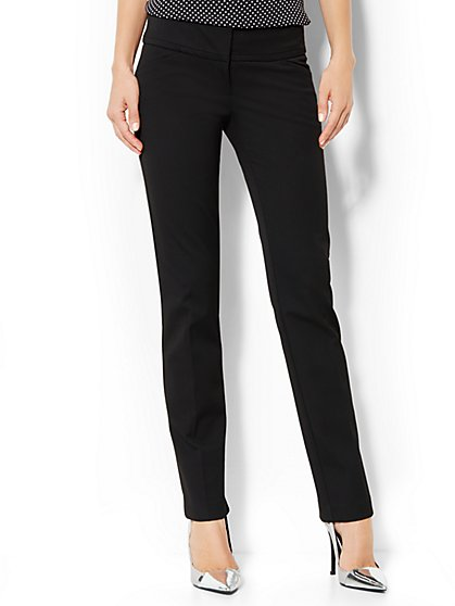 Crosby Streety SuperStretch Slim Leg Pant - Black