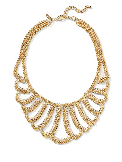 Crystal Collar Necklace  - New York & Company