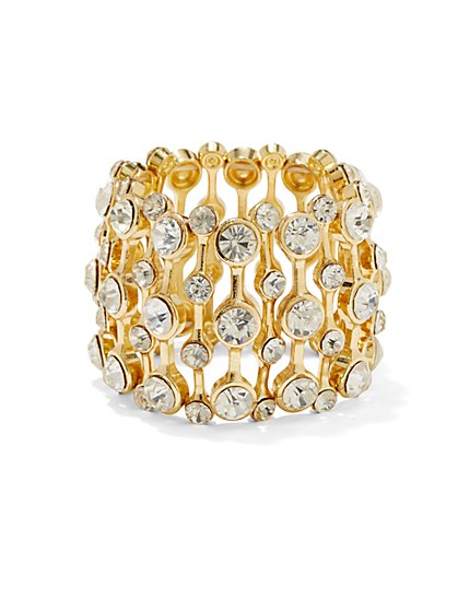 Crystal Stretch Bracelet  - New York & Company