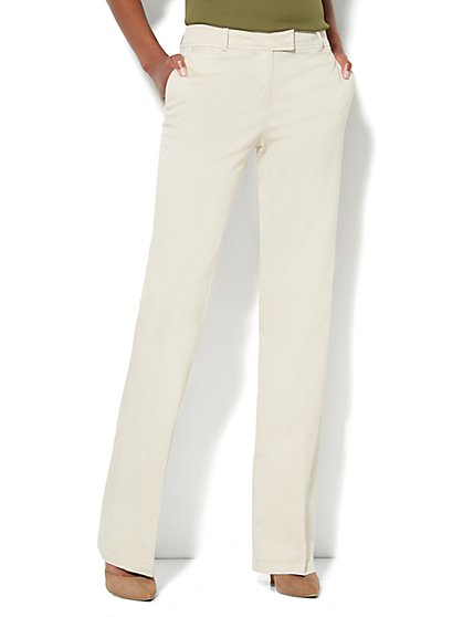 Curvy Bootcut Chino - Tall - New York & Company