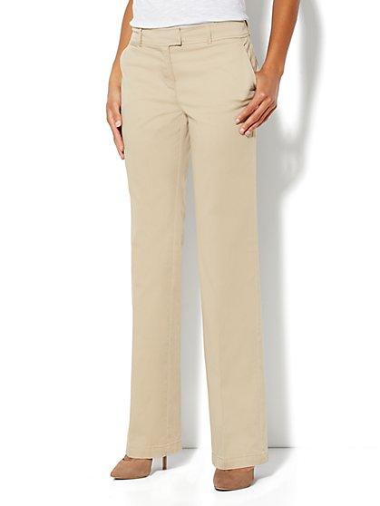 Curvy Bootcut Chino - Tall