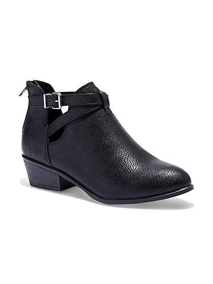 Cutout Ankle Boot  - New York & Company