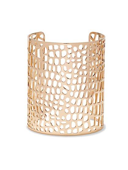 Cutout Cuff Bracelet  - New York & Company