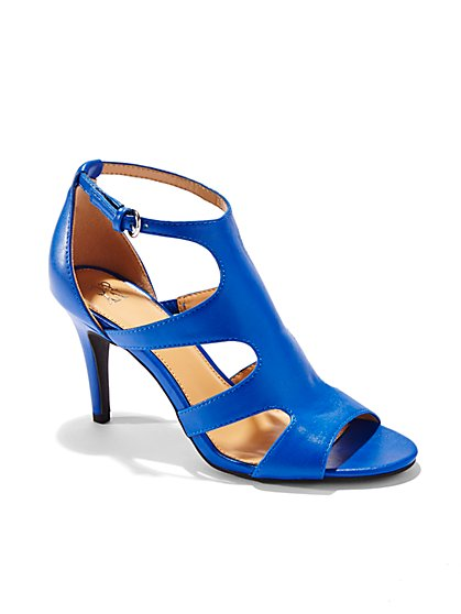 Cutout High-Heel Sandal  - New York & Company