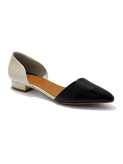 D'Orsay Colorblock Flat  - New York & Company