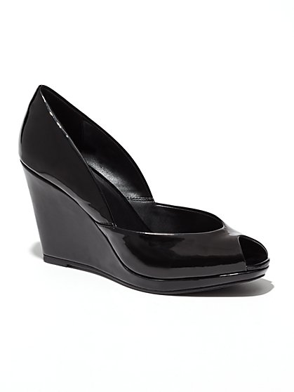 D'Orsay Wedge Sandal  - New York & Company
