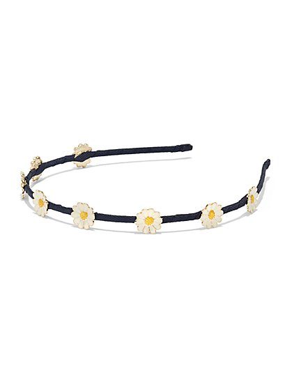 Daisy-Accent Headband  - New York & Company