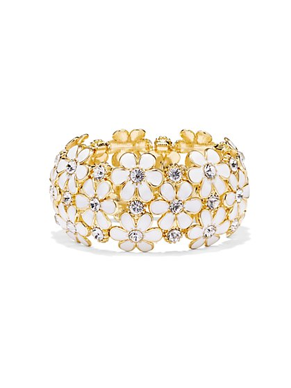 Daisy Stretch Bracelet  - New York & Company