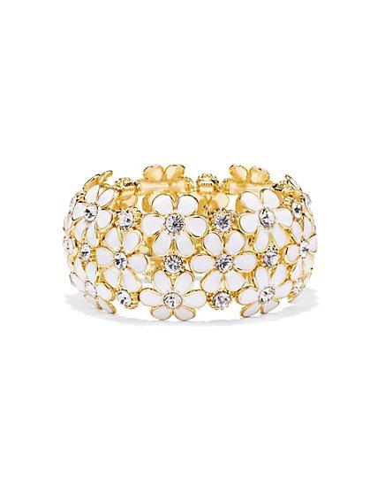 Daisy Stretch Bracelet  - New York & Company