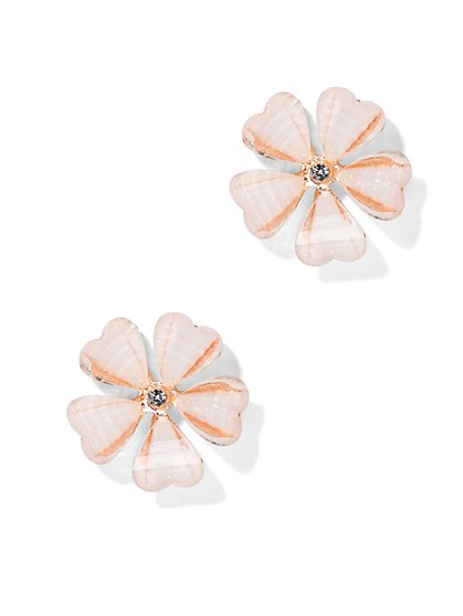 Dazzling Floral Earring  - New York & Company