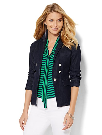 Denim Blazer - New York & Company
