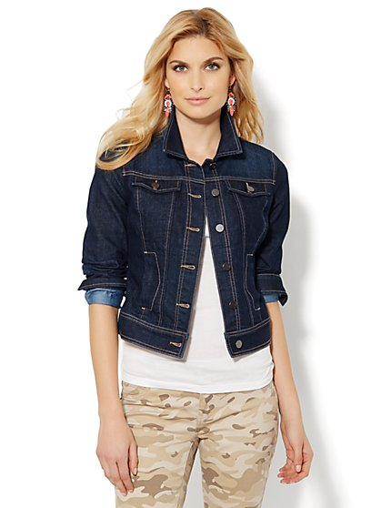 Denim Jacket - Rich Indigo