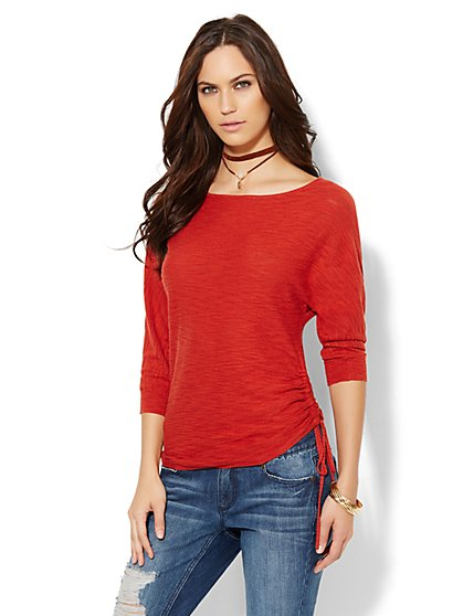 Dolman Boatneck Sweater - New York & Company