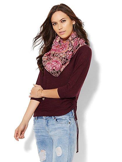 Dolman Boatneck Sweater - New York & Company