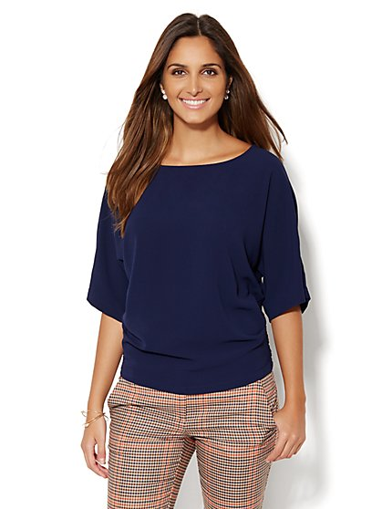 Dolman-Sleeve Blouse - New York & Company