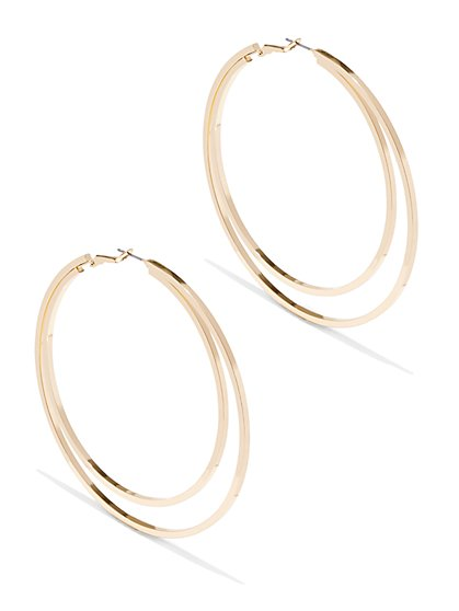 Double-Hoop Earring  - New York & Company