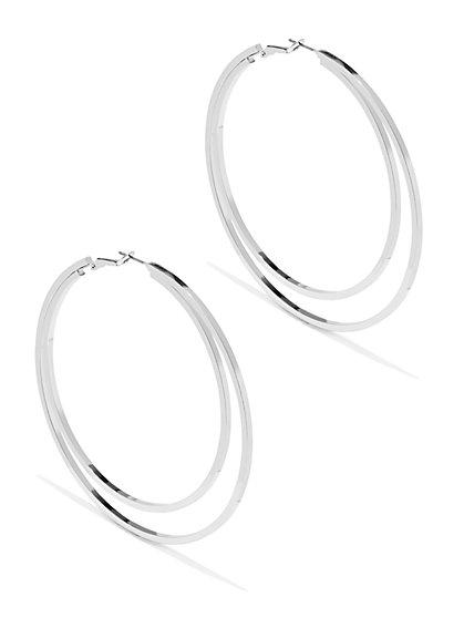Double-Hoop Earring  - New York & Company