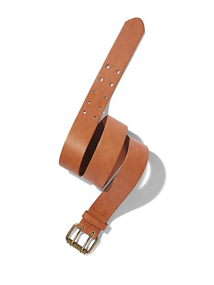 Double-Prong Buckle Belt  - New York & Company