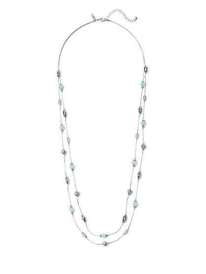 Double-Row Illusion Necklace  - New York & Company