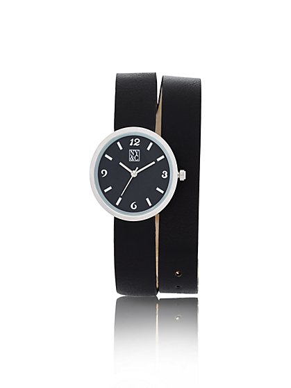 Double-Strap Wrap Watch  - New York & Company