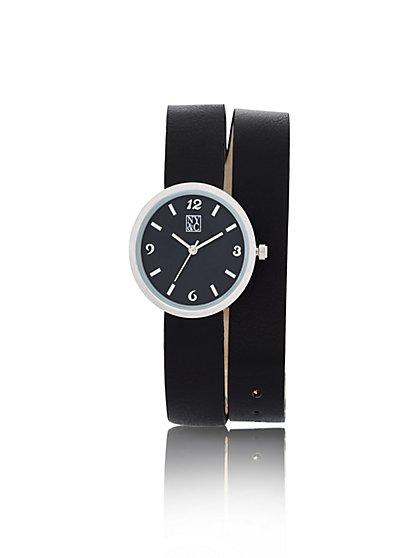 Double-Strap Wrap Watch  - New York & Company