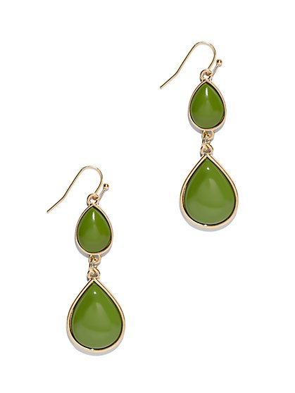 Double-Teardrop Earring  - New York & Company