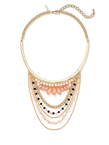 Draped Collar Necklace  - New York & Company