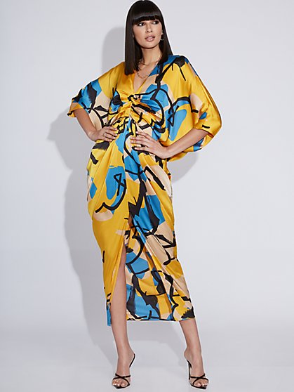 Draped Maxi Dress - Gabrielle Union Collection - New York & Company