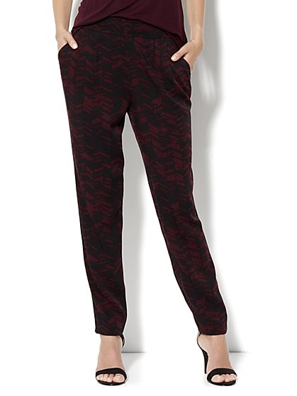 Draped Pocket Soft Pant - New York & Company
